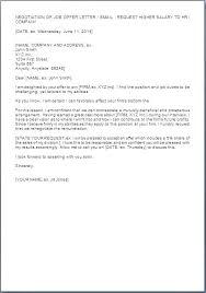 Job Offer Salary Negotiation Letter Sample Acceptance Bitwrk Co