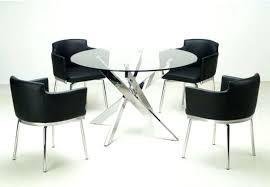 circular glass dining table inspiring modern round dining room sets and round glass dining table modern
