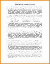 Resume Summary Statement Samples Sample Resume Summary Statement Luxury 24 Resume Summary Statement 20