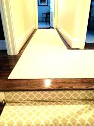 hallway runner custom sized shaped hall carpet runners long ideas extra rug for stairs contrast with dark floors hallway runner