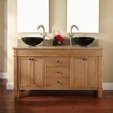 marvelous double bathroom vanity with vessel sinks charming black farmhouse sink