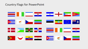 Country Flags Clipart For Powerpoint C To D