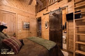 Log Cabin Bedroom Golden Eagle Log Homes Log Home Cabin Pictures Photos South