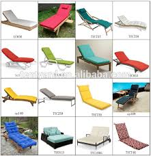 waterproof cushions for outdoor furniture. outdoor patio waterproof sunbed recliner rattan sun lounger cushions for furniture