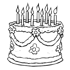 Small Picture Cake Coloring Page I Love Cake Coloring Page nebulosabarcom