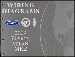 2009 ford fusion wiring diagram 2009 image wiring 2009 fusion milan mkz wiring diagram manual original on 2009 ford fusion wiring diagram