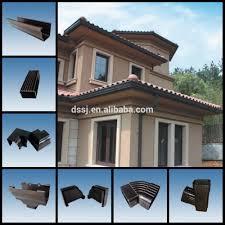 Pvc Roof Design New Design Pvc Roofing Gutter And Downspout Plastic Building Material Pvc Rain Gutter For House Roof Buy Pvc Rainwater Drain Gutter Pvc Rain