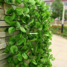 7 6ft artificial faux ivy vine silk leaves green plants home wall decoration
