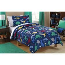 full size of mainstays kids dino roam bed in a bag coordinating bedding set dinosaur full