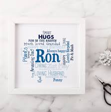 personalised 90th birthday gift for him