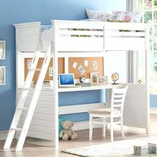 loft beds with desk white twin loft bed with desk and cork board loft bed over