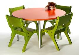 kids round table and chair set iv by lipper