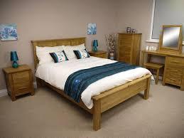 Oak Double Bed The Oakland Double Oak Bed Oak City - Double bedroom