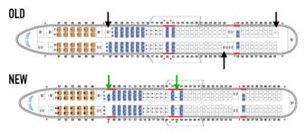 757 300 Aircraft Seating Chart The Best And Latest
