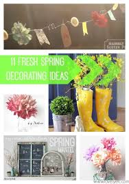 the problem is when i think about decorating for spring i picture easter eggs and bunny rabbits and little nests with birds eggs in them