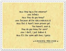 A Beautiful Mind Love Quote Best Of Quote To Remember A BEAUTIFUL MIND [24]