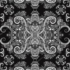 Boho Sieraad Textuur Zwart Wit Etnische Zwart Wit Sieraad