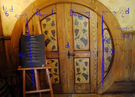 Decorating circular door images : designing a round door - hobbit house style (wheaton laboratories ...