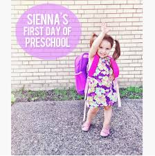 Preschool Quotes Mesmerizing Sienna's First Day Of Preschool Cute Kid Quotes At Home With Natalie
