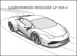 Small Picture Lamborghini coloring pages huracan ColoringStar