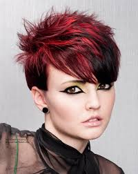 Colored Short Hairstyles | Fade Haircut