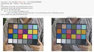 Using Machine Learning For Color Calibration With A Color
