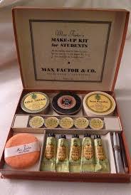 vine max factor se makeup kit female box rare hollywood theatrical 39 40s