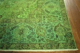 bright green area rugs with solid colored plus color together fl as well rug multi bath bright green vintage rug