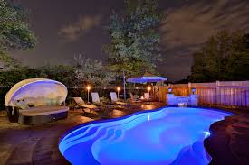 swimming pool lighting ideas. Having Lights In Your Pool Can Create A Unique Ambiance. Leisure Pools Underwater Are Available With LED Colour Changing Bulbs Providing You Swimming Lighting Ideas
