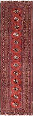 main 3 4 x 12 8 torn persian runner rug photo