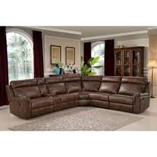 brown sectional sofas. Simple Sofas AC Pacific Clark Brown PolyesterWoodSteelFoam 6piece Reclining Living Intended Sectional Sofas O