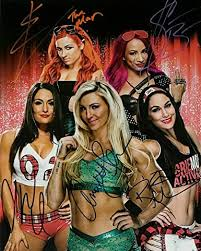 She has been in the business for many years now, has had hundreds of matches and has wrestled many, many women. Wwe Diva S 2020 Reprint Signed Photo Sasha Banks Becky Lynch The Bella Twins Charlotte Flair Rp At Amazon S Entertainment Collectibles Store