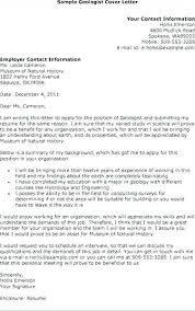 15 Geologist Resumes Proposal Letter