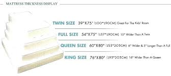 twin mattress thickness. How Thick Is A Twin Mattress Thickness Wholesale Latex Inflatable Memory Foam Pillow Top Bed