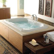 ... Bathtubs Idea, Two Person Jacuzzi Bathtub 2 Person Soaking Tub  Freestanding Home Decor Extraordinary Jacuzzi