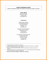 How To Do References On A Resume 10 How To Format References On A Resume Payment Format
