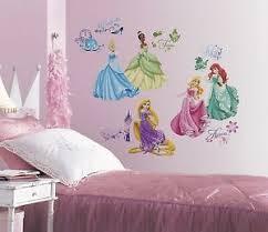 DISNEY PRINCESS WALL DECALS New Princesses ROYAL DEBUT Stickers Girls Room  Decor