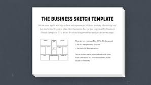 Bplan Template How To Write A One Page Business Plan Templates Ideas And A Step