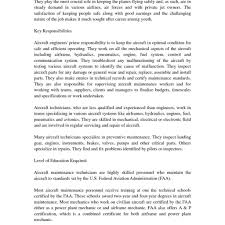 Delighted Air Force Aircraft Mechanic Resume Sample Ideas Entry