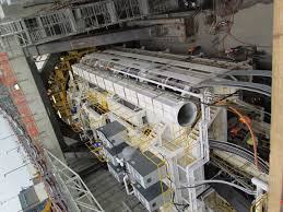 hard grind the epic journey of the world s biggest tunnel boring it s also where the liner sections are collected from a small electric railway car called a segment transport truck and moved forward for placement