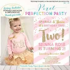 Turning 2 Birthday Invitations Invitation Card Design Birthday
