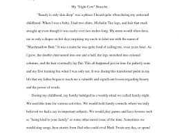 narrative example essay on family essays about examples of good narrative example essay