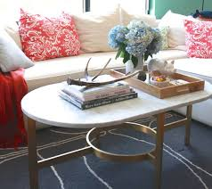 west elm coffee table styling by mystylevita