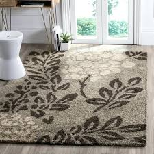 ultimate smoke dark brown fl area rug and blue