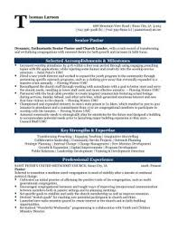 Ministry Resume Templates 8 Youth Examples Template