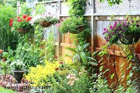 fence hanging planters garden fence with hanging planters diy fence hanging  planters