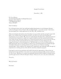School Superintendent Cover Letter Tomyumtumweb Com