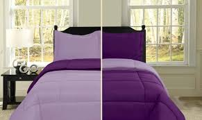 Purple Comforter Sets - Purple Bedroom Ideas & Purple Plum Reversible Comforter Set Adamdwight.com