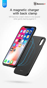 Ốp lưng tích hợp Pin sạc dự phòng không dây Baseus cho iPhone X (Wirel –  Baseus Việt Nam