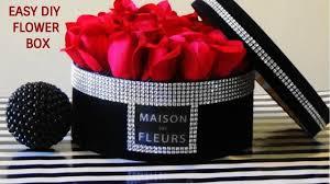 diy dollar tree flower box gift box roses